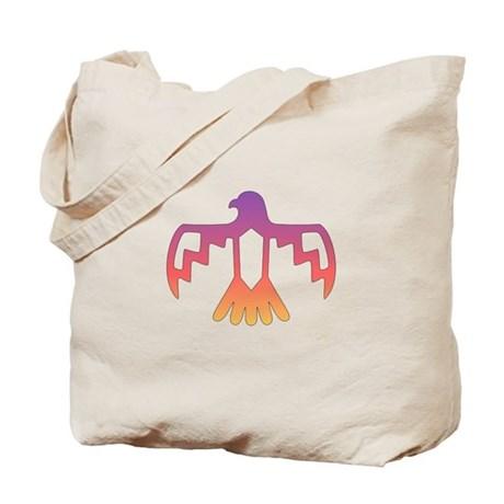 Sunset Thunderbird Tote Bag