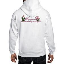Pink Tulips - Chihuahua Hoodie