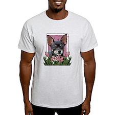 Pink Tulips - Chihuahua T-Shirt