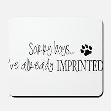 Sorry boys... Mousepad