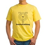 Bremsstrahlung Yellow T-Shirt