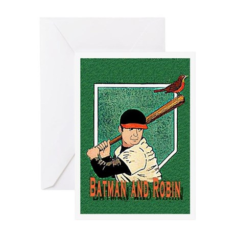 Batman and robin birthday card batman and robin greeting card by carlbandy bookmarktalkfo Gallery