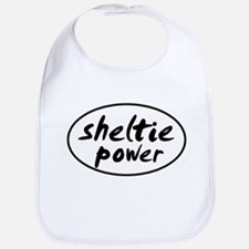 Sheltie POWER Bib