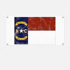 Vintage North Carolina State Banner