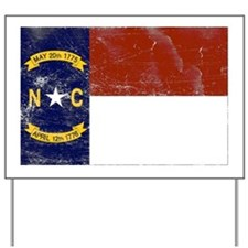 Vintage North Carolina State Yard Sign