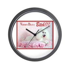 Valentine's Day is a Bitch!!! Wall Clock