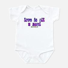 love is all u need Infant Bodysuit