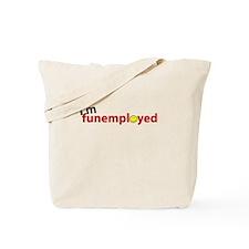 I'm Funemployed - Tilted (smi Tote Bag