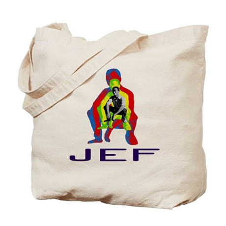 He Is Jef Tote Bag