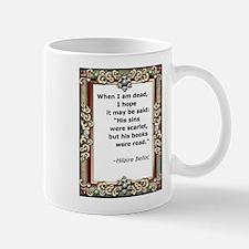 His books were read Mug