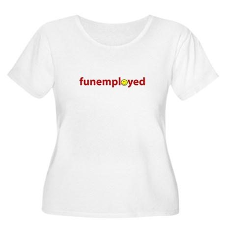 Funemployed - Coworkers (smil Women's Plus Size Sc