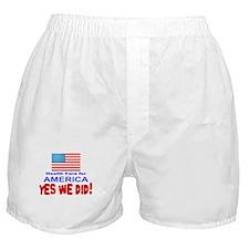 OBAMA SHOPS : Boxer Shorts