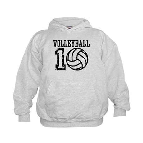 Volleyball 2010 Kids Hoodie