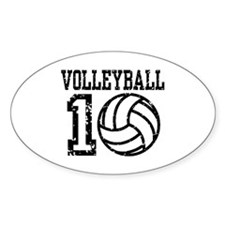 Volleyball 2010 Decal