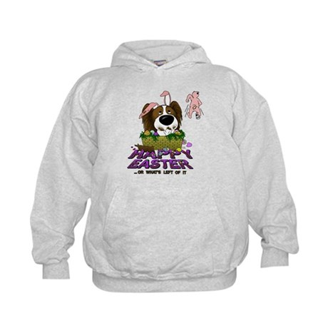 Papillon Happy Easter Kids Hoodie
