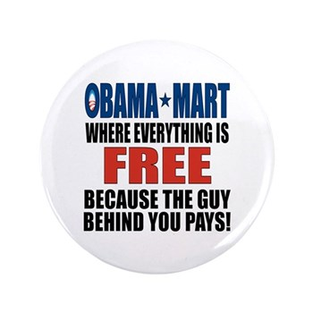 "Obama Mart 3.5"" Button (100 pack)"