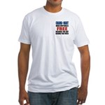 Obama Mart Fitted T-Shirt