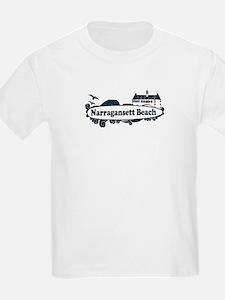 Narragansett RI - Surf Design T-Shirt