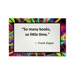 So many books Rectangle Magnet (100 pack)