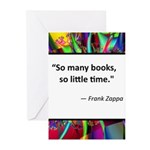 So many books Greeting Cards (Pk of 10)
