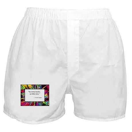 So many books Boxer Shorts