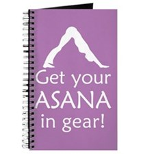 Yoga Get Your Asana In Gear Journal