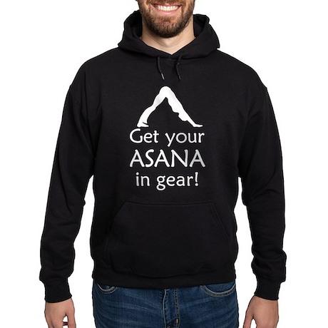 Yoga Get Your Asana In Gear Hoodie (dark)