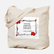 Paradise Library Tote Bag