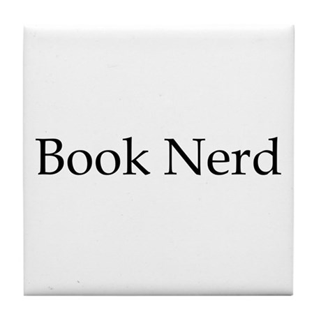 Book Nerd Tile Coaster