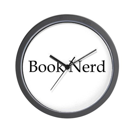 Book Nerd Wall Clock