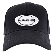 Narragansett RI Oval Design Baseball Cap