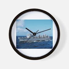 USS Detroit Ship's Image Wall Clock