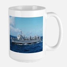 USS Detroit Ship's Image Large Mug