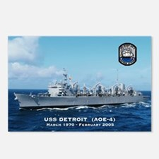 USS Detroit Ship's Image Postcards (Package of 8)