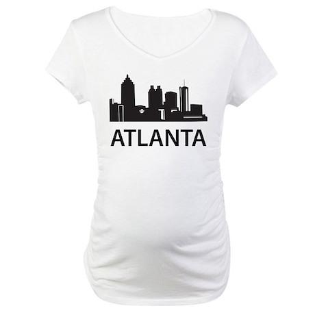 Atlanta Skyline Maternity T-Shirt