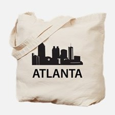 Atlanta Skyline Tote Bag
