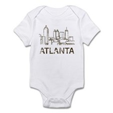 Vintage Atlanta Infant Bodysuit
