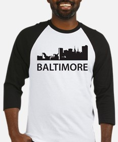 Baltimore Skyline Baseball Jersey