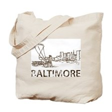 Vintage Baltimore Tote Bag
