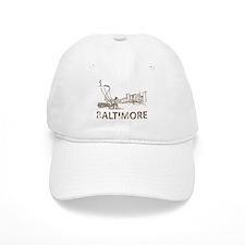 Vintage Baltimore Baseball Cap