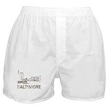 Vintage Baltimore Boxer Shorts