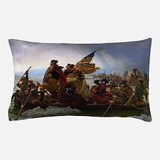 Washington Crossing the Delaware E Got Pillow Case
