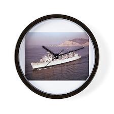 USS Seattle Ship's Image Wall Clock