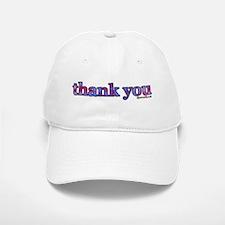 thank you Baseball Baseball Cap