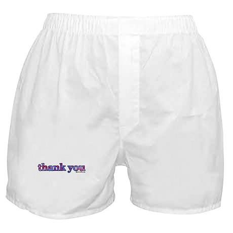 thank you Boxer Shorts