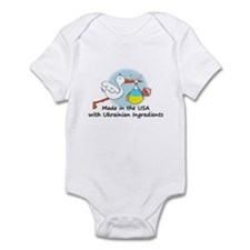 Stork Baby Ukraine USA Infant Bodysuit