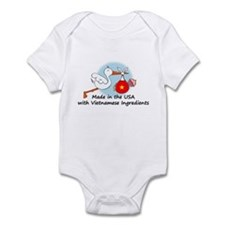 Stork Baby Vietnam USA Infant Bodysuit