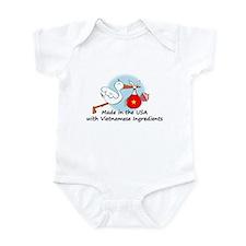 Stork Baby Vietnam USA Onesie