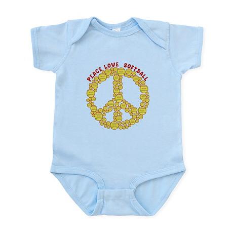 peacelovesoftballw Body Suit
