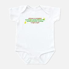 Sickness is contagious - Infant Bodysuit